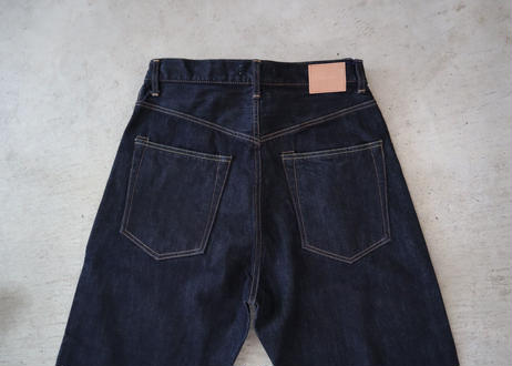 HATSKI / Loose Tarperd Denim (One wash)