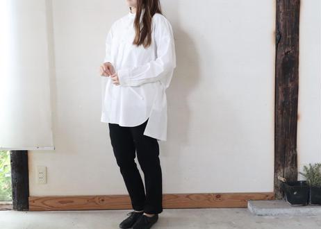 MANON / バンドカラー タイプライターオーバーシャツ