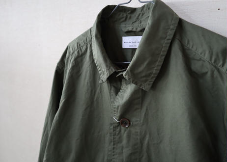 MANUAL ALPHABET / High Count Twill Shirts Jacket