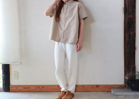 maillot / Double Cloth s/s girls BD shirt