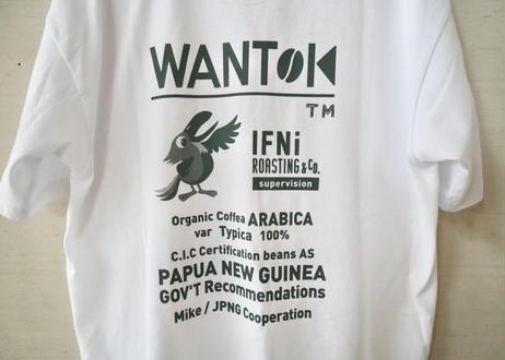 "EVCON × IFNi ROASTING&CO. / ""WANTOK"" Tee"