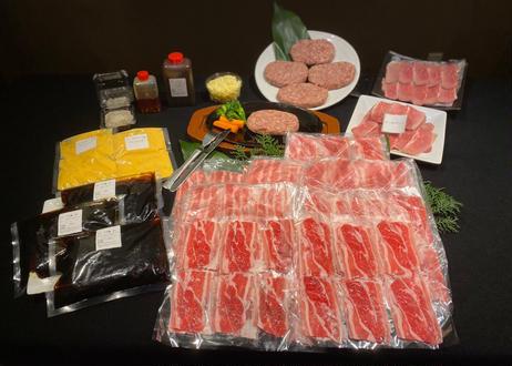 【00021009】■ 健康牛肉ちょうどいいレギュラーサイズ グラスフェッド牛肉100g☓8・ローストビーフ100g☓2・グラスフェッド100%ハンバーグ 5個
