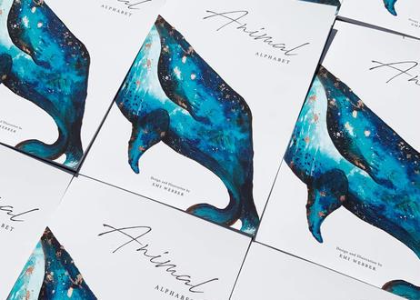 アルファベットA〜Z ソフトカバーブック A5サイズ