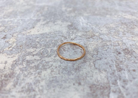 enrich everyday × Vlas Blomme Everyday RING Single/PINK GOLD(10K)ピンクゴールド