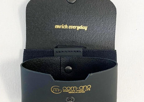 enrich everyday × com-ono Everyday TINY Wallet/BLACK × BLACK(ブラック × ブラック)