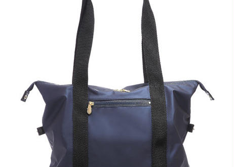 EMILYSSA 16DBT TOTE BAG /Navy × Black(ネイビー)