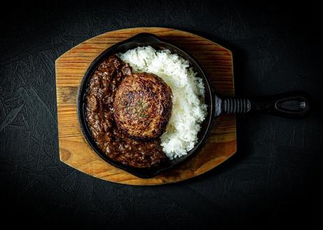 豊西牛100%肉カレー&豊西牛100%ハンバーグ【5個セット】