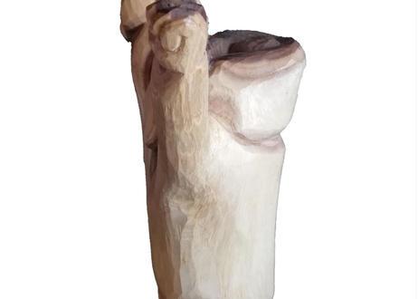 木彫り らかんさん