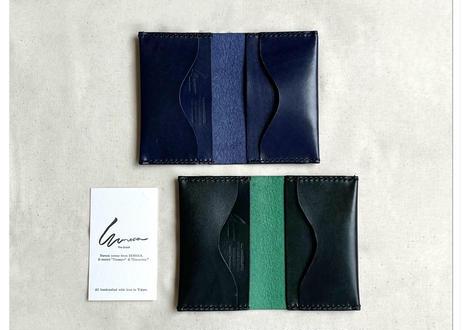 "Semi-custom made item ""card case  #Rugato leather"""