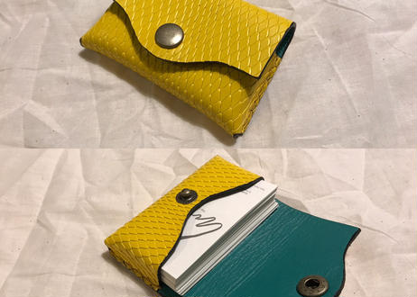 Semi-custom made item Card case 'Envelope type
