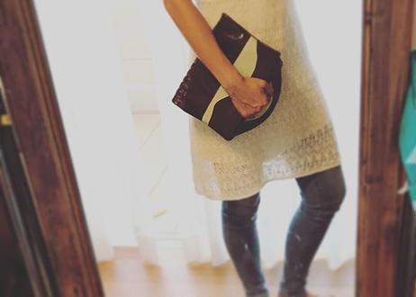 CLUTCH/TOTE BAG  &  CLUTCH BAG with zipper        #set gift