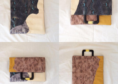 tote and clutch bag