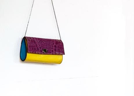 mini clutch/ chain 2way bag