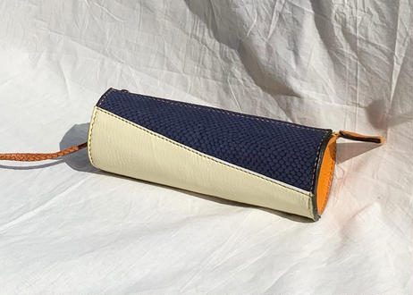 tubular clutch bag