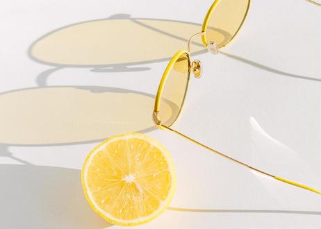 TAEA LEATHER Lemon