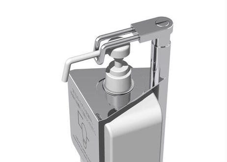 消毒液スタンドHS-D1 小径アダプター