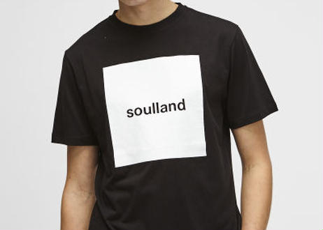 SOULLAND (ソウルランド) LOGIC MANSON T-SHIRT W.PRINT - BLACK