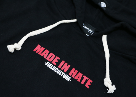 MADE IN HATE ライトプルパーカー