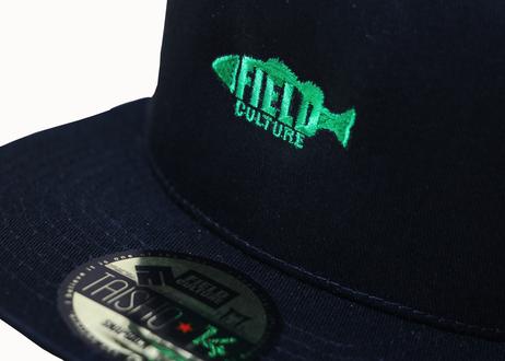 スナップバックFLAT-fish(5パネル)