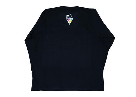 SprayロングスリーブTシャツ