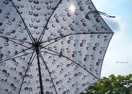 コートニーの手作り日傘*パープル
