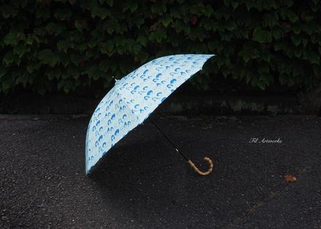 コートニーの手作り日傘*ブルー
