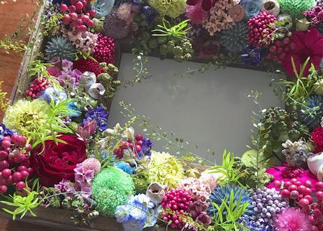 Jardin de Monet オーダーメイドのフラワーフォトフレーム