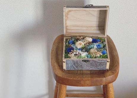 オーダーメイドのフラワーボックス