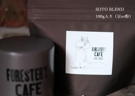 COFFEE CAN&SOTO BLEND(100g×1)(御注文後2~3営業日以内発送可)