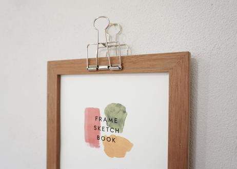 frame sketch book  -Pencil cedar- |フレームスケッチブック|
