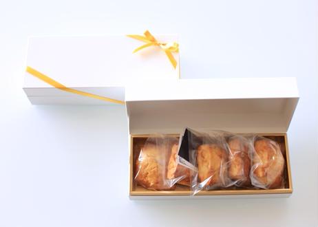 【ギフトに大人気!】オレンジスコーンと紅茶のセット(スコーン5個、ティーバッグ5袋入り)