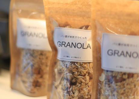 【大人気!】パン屋が本気でつくったグラノーラ(プレーン):忙しい日の朝食やおやつに最適♪プレゼントにもおすすめです!