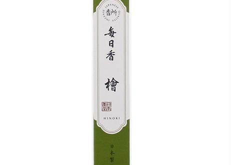 日本香堂 香所 毎日香 檜の香りスティック30本入