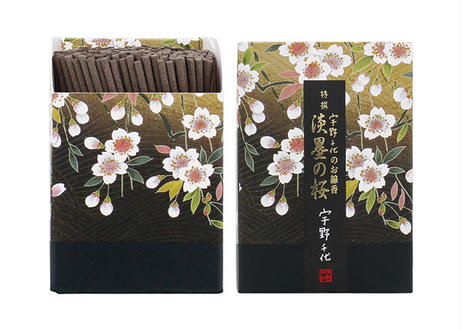 日本香堂 宇野千代のお線香 特選淡墨 ( うすずみ ) の桜 ミニ