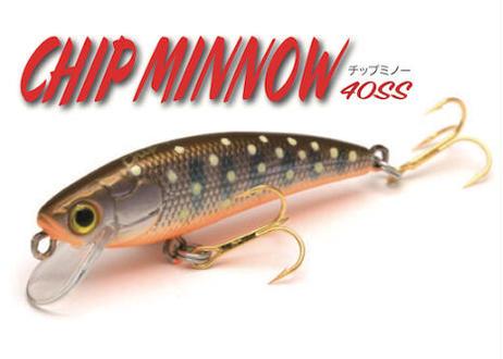 【2021】Chip Minnow 40mm2.0g SS