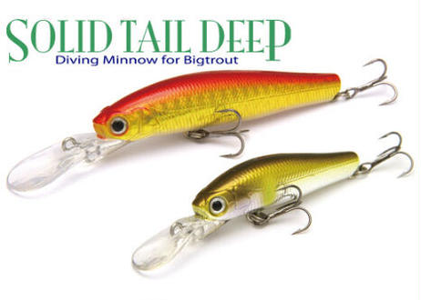 Solid Tail Deep 66mm 7.2g Sinking