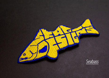 オリジナルワッペン魚型