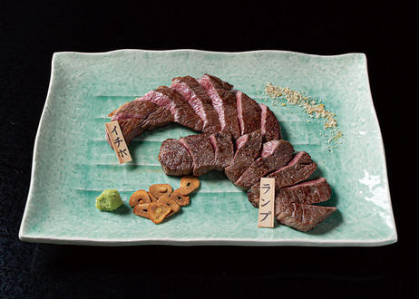 【ステーキ】極上雌牛赤身モモ 80g
