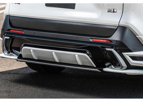 RAV4 モデリスタ用 リアアンダースポイラー 未塗装品 ダブルエイト