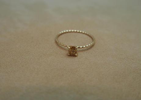 Brown Diamond Petit Ring(s/q)