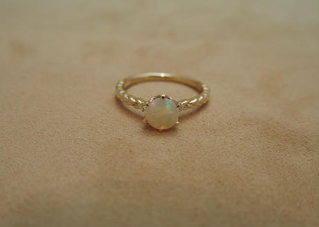 Opal Braid Ring(r/d)