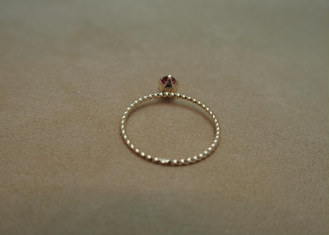 Ruby Petit Ring (o/v)