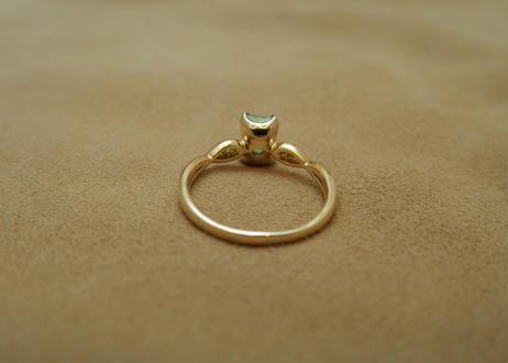 Paraiba Tourmaline Wave Ring (s/q)