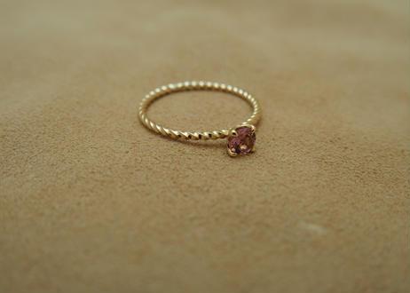 Pink Tourmaline Petit Ring(r/d)