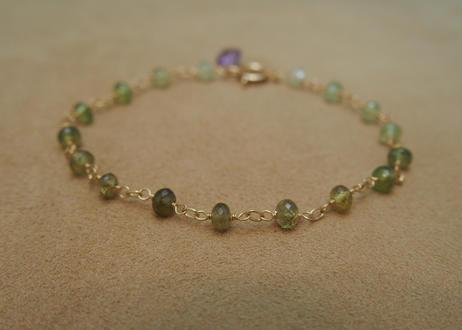 Green Garnet Bracelet(r/c)