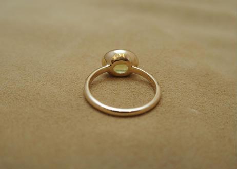 Parrot Crysoberyl Simple Ring(o/v)