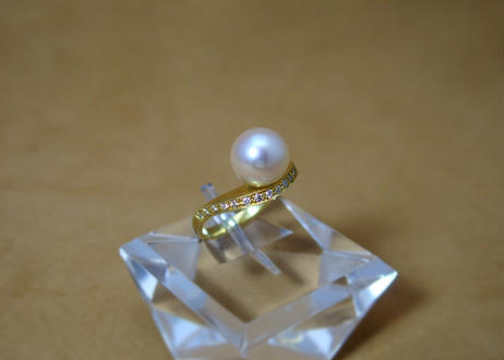AKOYA Pearl Design Ring(SPICA)