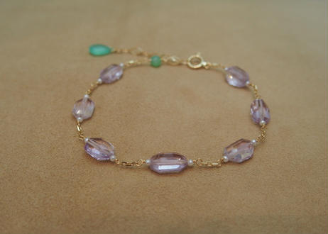 Pink Amethyst Bracelet