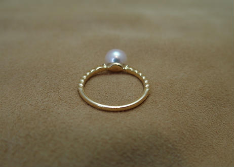 AKOYA Pearl Braid Ring