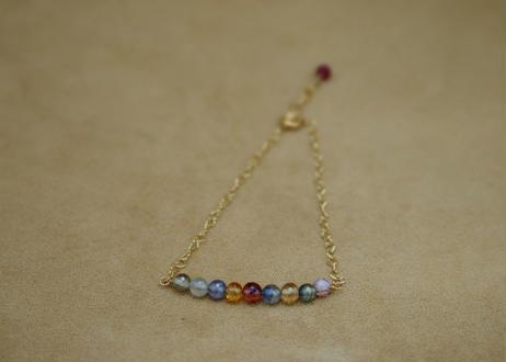 Multi Sapphire Bracelet(r/c)
